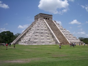 Chichen Itza courtyard