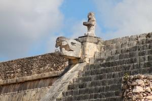Chichen Itza, Mayan detail